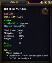 Hat of the Meridian