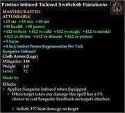 Imbued Tailored Swiftcloth Pantaloons