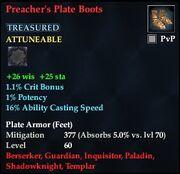 Preacher's Plate Boots