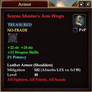 Serene Mentor's Arm Wraps