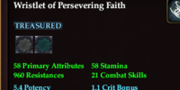 Wristlet of Persevering Faith