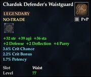 Chardok Defender's Waistguard