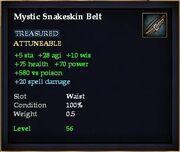 Mystic Snakeskin Belt