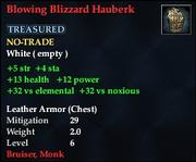 Blowing Blizzard Hauberk