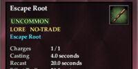 Escape Root