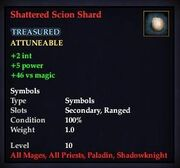 Shattered Scion Shard