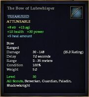 The Bow of Lutewhisper