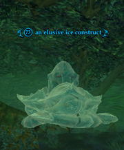 An elusive ice construct