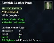 Rawhide Leather Pants