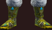 Vesspyr Scholar's Green Boots (Equipped)