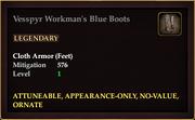 Vesspyr Workman's Blue Boots