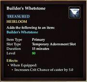 Builders whetstone