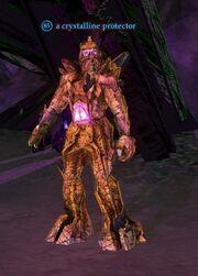 A crystalline protector