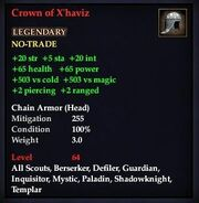 Crown of X'haviz
