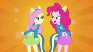 Fluttershy and Pinkie Pie splash screen EG