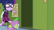 Twilight opens a nearby locker EG3