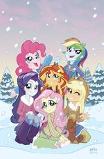 Equestria Girls Holiday Special Hastings cover
