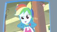 Rainbow Dash being filmed EG