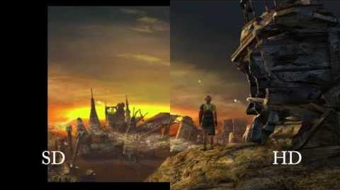 Standard High Definition Comparison - FINAL FANTASY X X-2 HD Remaster