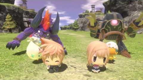 WORLD OF FINAL FANTASY Announcement trailer
