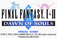 FF Dawn of Souls 1