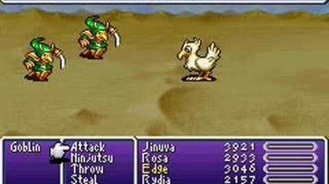 Final Fantasy IV Advance Summons- Chocobo