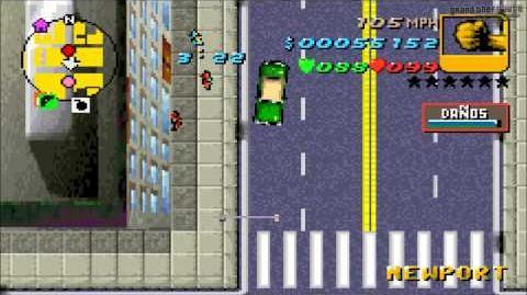 "Grand Theft Auto Advance - Misión 20 ""Carrera"""