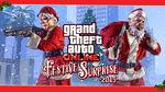 Ya está disponible la Sorpresa festiva 2015 de GTA Online