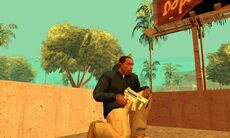 GTA San Andreas Beta Mp5-k -