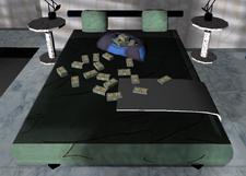 El dinero en la cama de Vercetti