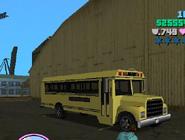 Reconstrucción del bus escolar GTA VC