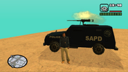 GTA San Andreas Beta FBI Truck