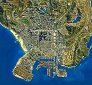 Los Santos Vista Satelital