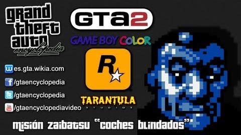 """Grand Theft Auto 2 (GBC) - Misión Zaibatzu """"Coches blindados"""""""
