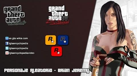 Grand Theft Auto IV The Lost and Damned - Brian Jeremy