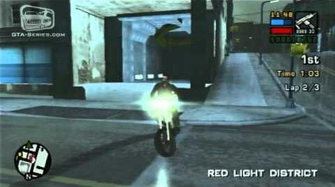 GTA Liberty City Stories - Street Race - Red Light Racing