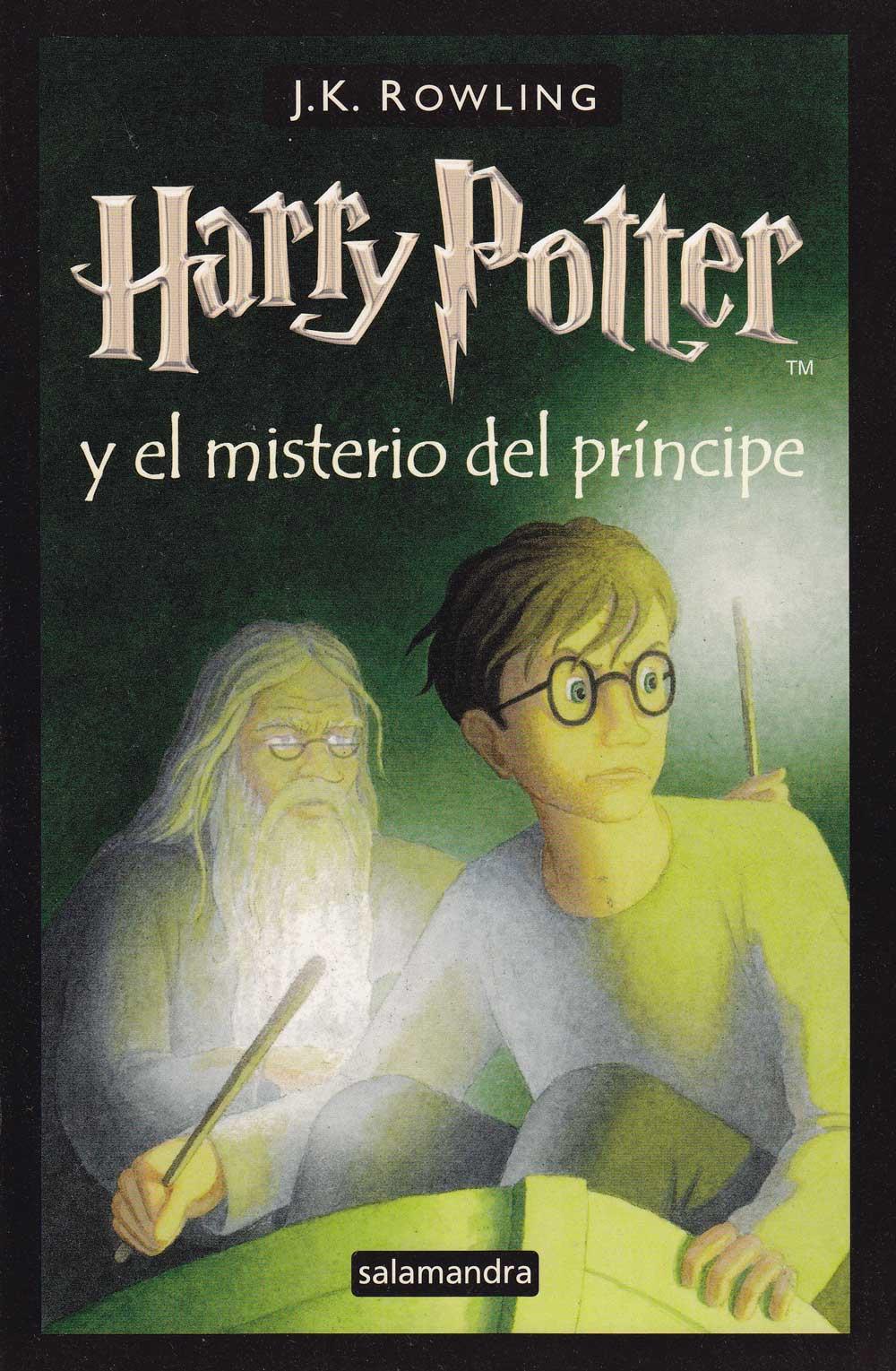 Lista de los títulos de los libros de Harry Potter en