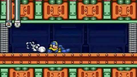 Mega Man 7 - Junk Man Stage Forgotten Factory
