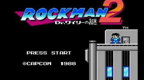 Rockman 2 Dr. Wily no Nazo - Intro