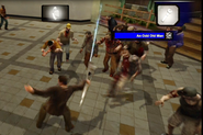 Dead rising laser sword killing zombies (13)