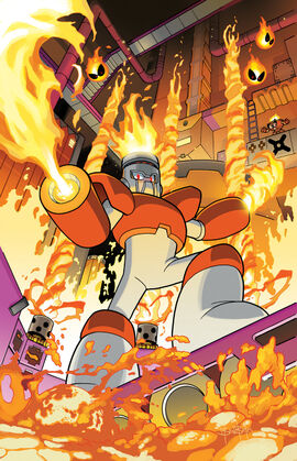 Fire Man/Archie Comics