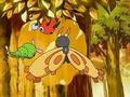EP500 Pokémon comiendo miel.png