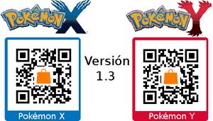 Parche versión 1.3 XY