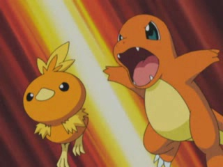 Archivo:EP347 Torchic y Charmander.jpg