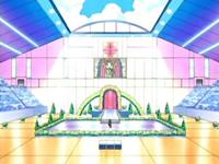 Archivo:EP495 Escenario del concurso Pokémon de Aromaflor.png
