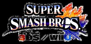 Logo de Super Smash Bros. para Nintendo 3DS y Wii U