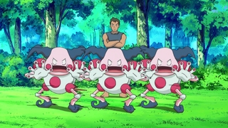 Archivo:EP628 Mr Mime usando doble equipo.jpg