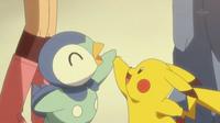 EP660 Pipulp y Pikachu despidiendose