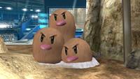 Dugtrio SSB4 Wii U.png