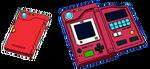 Pokédex en Pokémon Verde, Rojo y Azul